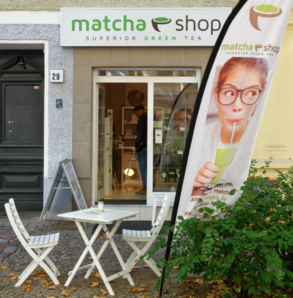 Der matchashop in Berlin