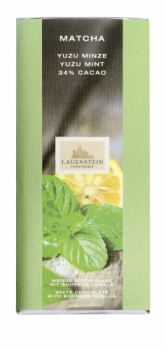 Lauenstein Matcha Yuzu Mint Confectionery Chocolate